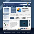 Web Design Element Template - Stockvectorbeeld
