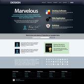 Web design element mall — Stockvektor