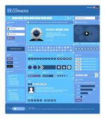 Web Design Element Template — Stock Vector