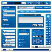Modelo de elemento de design web — Vetorial Stock