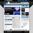 Web design element mall — Stockvektor  #5028059