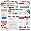 Web design element template - Stok Vektr
