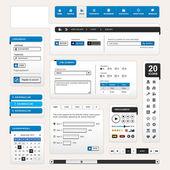 Modello di elemento di web design — Vettoriale Stock