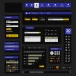 Stock vektor: Web Design Website Element Template