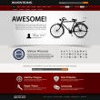 Web Design Website Element Template — Image vectorielle