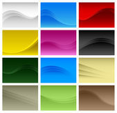 Abstract Background Wave Vector A4 — Stock Vector