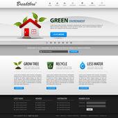 Plantilla de elemento web diseño web — Vector de stock