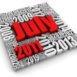 July 2011 — Stock Photo