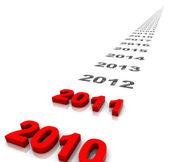 Nový rok — Stock fotografie
