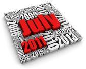 Juli 2011 — Stockfoto