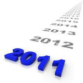 Año 2011 — Foto de Stock