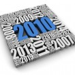 Royalty-Free Stock Photo: Year 2010 AD