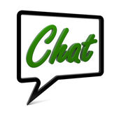 Chat — Stock Photo