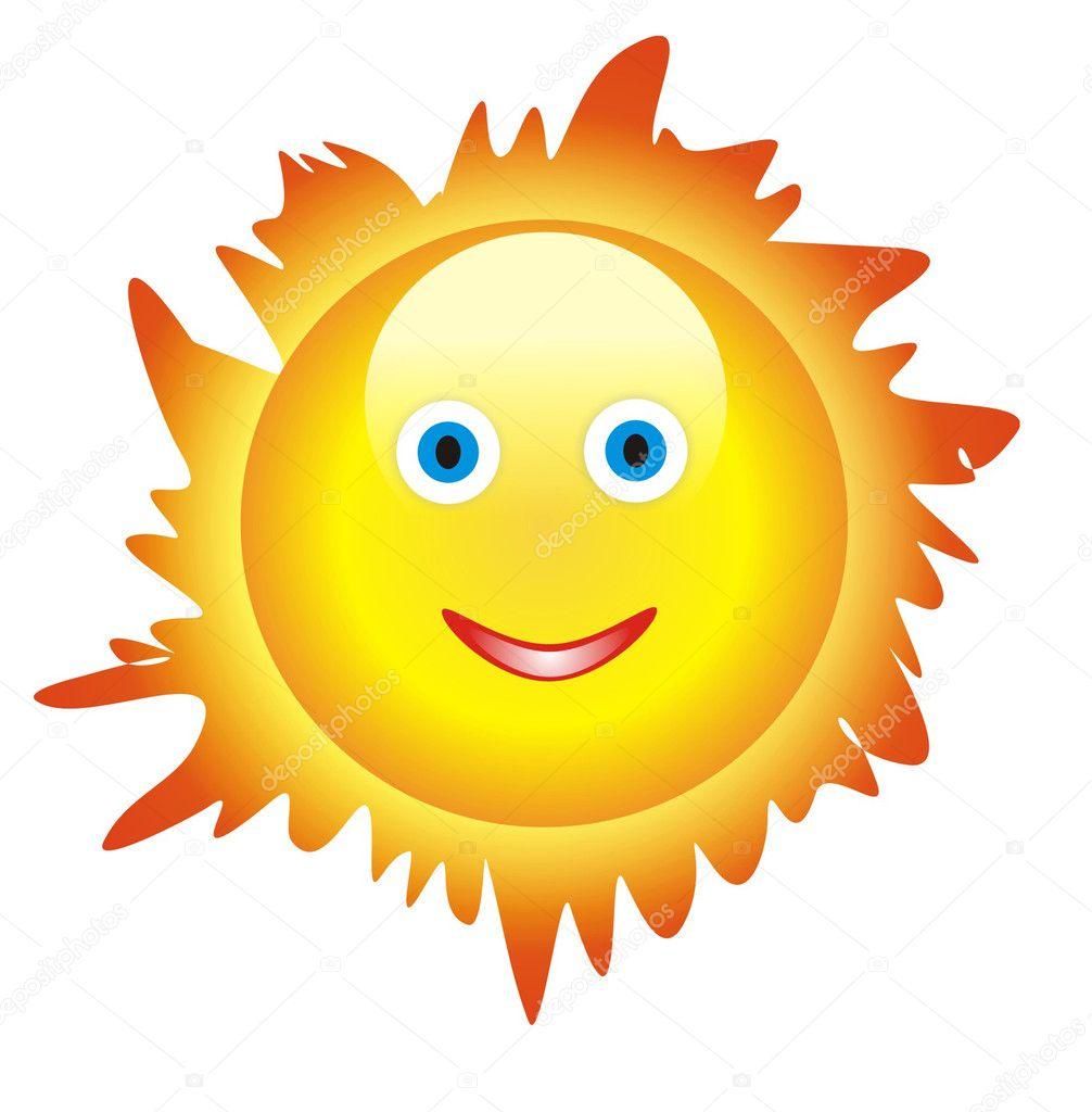 Сонце малюнок