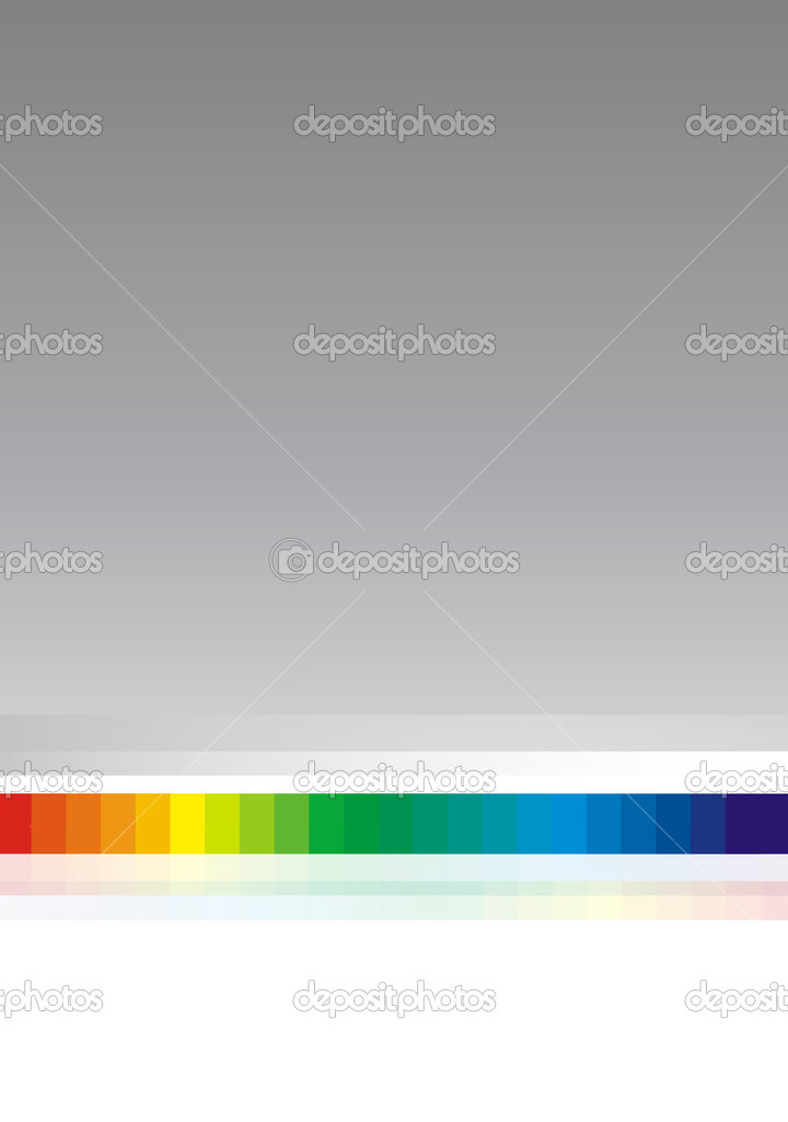 On a gray background the color spectrum is represented   Stock Photo #4023512