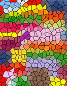 Color mosaic — Stock Photo