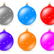 Christmas ball — Stock Vector