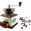 Antique coffee grinder — Stock Photo #5343831
