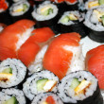 Sushi rolls — Stock Photo #5361017
