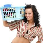 Laundry time — Stock Photo
