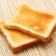 Toasted bread — Stock Photo #5357151