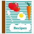 recipes — Stock Vector