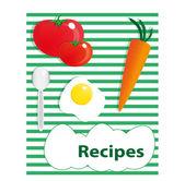 Recipes — Stock Vector