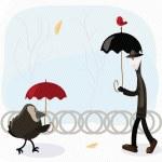 Rain man — Stock Vector #5372300