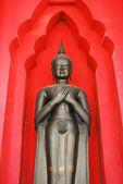 Ancient Buddha Statue in Thailand Buddha temple — Stock Photo
