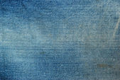 Texture of blue jeans background picture — Stock Photo