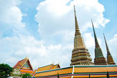 Wat Pho Buddha Temple in Bangkok, Thailand — Stock Photo