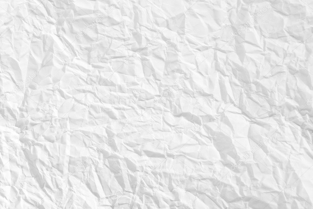 Wrinkled paper background texture — Stock Photo ...
