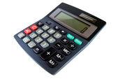 Black calculator isolated — Stock Photo