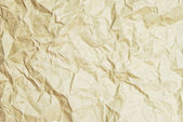 Crumpled recycle paper texture background — Stock Photo