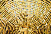 Pattern of weave basket — Stock Photo
