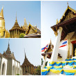 Stock Photo: Collection of BuddhTemple in Thailand