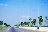 Urban road way — Stock Photo