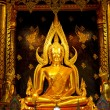 Golden BuddhStatue in Thailand — Stock Photo #4798071