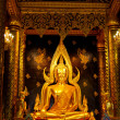 Golden BuddhStatue in Thailand — Stock Photo #4798516