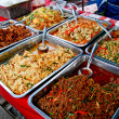 Variety of thai food in market — Stock Photo #4799176