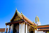Golden Buddha temple in Thailand — Stock Photo