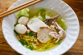 Asian style noodle — Stock Photo
