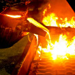 Metal casting process — Stock Photo #4803359