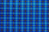 Vintage blue plaid pattern — Stock Photo