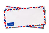 Classic air mail envelope — Stock Photo