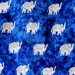 Elephant pattern thai style background — Stock Photo