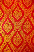 Ancient Thai pattern on wall — Stock Photo