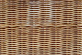 Brown wicker texture pattern background — Stock Photo
