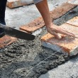 Bricklayer — Stock Photo #5364150