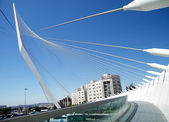 Jerusalem Calatrava Bridge 2010 — Stock Photo